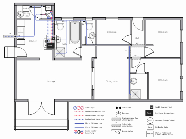 Bathroom Plumbing Floor Plan New 28 Collection Of Plumbing Layout Plan Drawing Bitrixa Limited